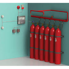 We deal in Co2 Fire Suppression System